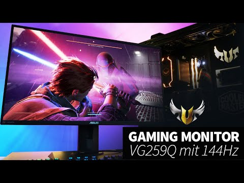 ASUS TUF VG259Q Gaming Monitor mit 144 Hz I Deutsch I Input Lag