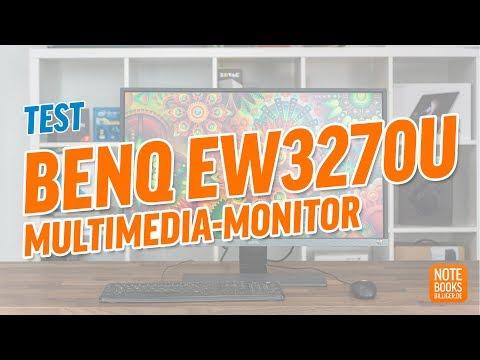 BenQ EW3270U Test - Deutsch / German ►► notebooksbilliger.de