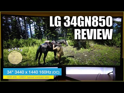 LG 34GN850 Review - Best Ultrawide Gaming Monitor 2020?