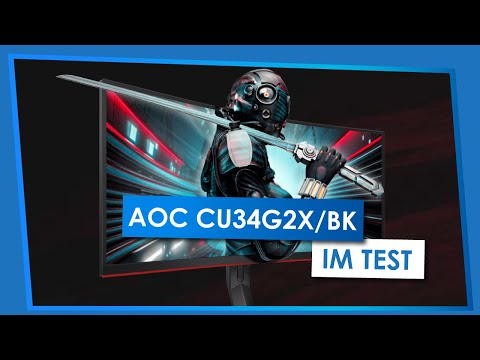AOC CU34G2X - Der 34-Zoll-Curved-Gaming-Monitor im Test