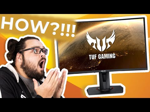 THIS FRIGGIN MONITOR COSTS HOW MUCH?! - ASUS TUF Gaming VG27WQ Review