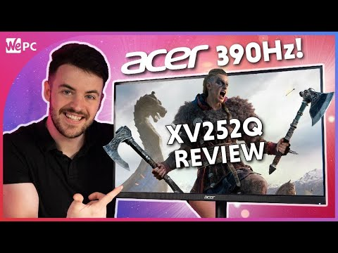 Acer Nitro XV252Q F Review - The Worlds First 390Hz Gaming Monitor!