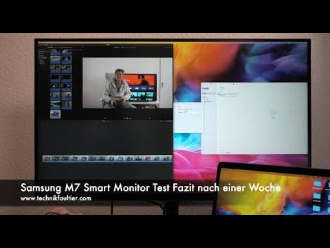 Samsung M7 Smart Monitor Test Fazit nach einer Woche