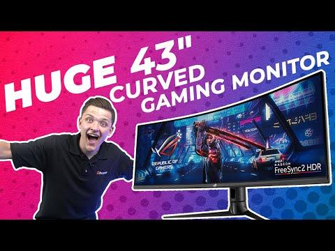 "The most insane gaming monitor yet… - ASUS ROG STRIX XG43VQ 43"" super ultrawide"