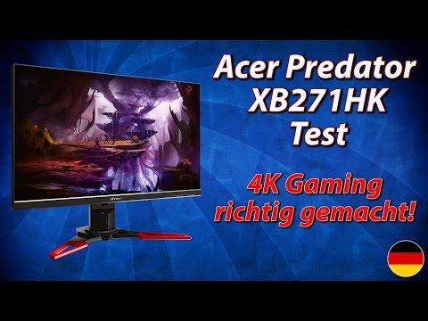 Acer Predator XB271HK Test | 4K Gaming richtig gemacht! (deutsch)