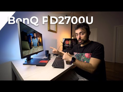 BenQ PD2700U - Best 4K Photo Video Editing Monitor [2021 Edition]