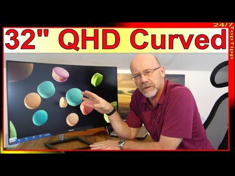 "Philips 325E1 32"" QHD Curved Monitor ✔ Gamer oder Büro [ Unboxing & erster Eindruck ] 24/7 Top Tipp"