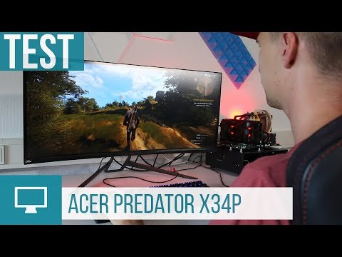 Acer Predator X34P Test: 120 Hz, stärkere Krümmung und weitere Neuerungen!
