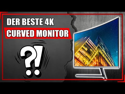 """Der günstigste 32"""" 4K Curved Gaming Monitor   lohnt sich das?   Samsung UR32R592CWU Review   Deutsch"""