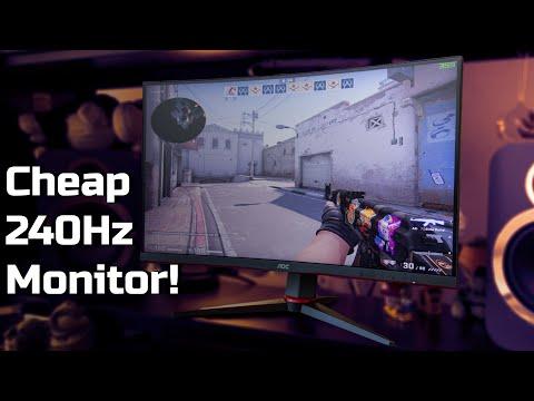 AOC C27G2ZU review: A cheap 240Hz monitor | TotallydubbedHD