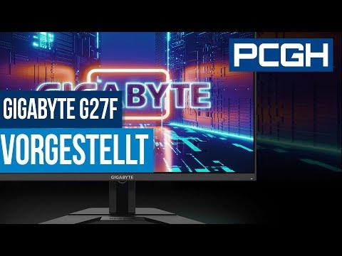 GIGABYTE G27F | G-Sync Compatible und hohe Farbtreue für wenig Geld | PCGH Jubiläums Gewinnspiel