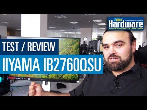 Iiyama G-Master GB2760QSU Red Eagle | WQHD mit 144 Hz | Gaming-Monitor Test