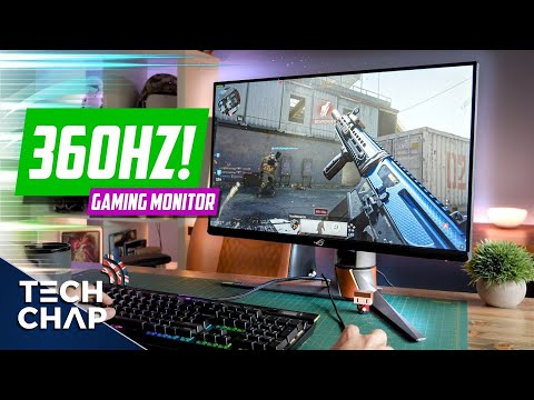 The ULTIMATE 360hz Gaming Monitor! (ASUS ROG PG259QN Review) | The Tech Chap