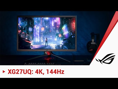 ROG Strix XG27UQ: 4K und 144 Hz Gaming-Monitor mit neuem Preis