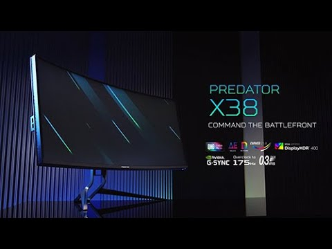 Predator X38   Curved Ultrawide HDR 37.5-inch Gaming Monitor