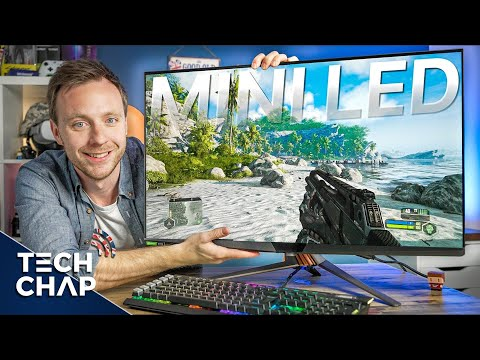 The ULTIMATE Mini LED 4K 144hz Gaming Monitor! [ROG Swift PG32UQX Review]