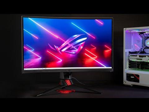 ASUS ROG Strix XG27WQ Gaming-Monitor mit 165Hz und 1ms Hands-On