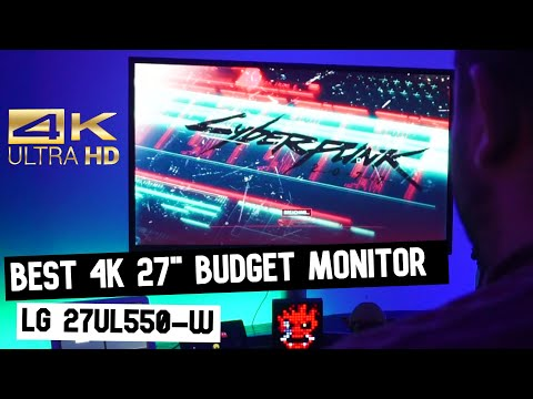 """LG 27UL550 27"""" IPS 4K Monitor with HDR 