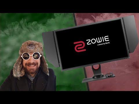 ZOWIE XL2740 Prototypisch Getestet ★ eSports Monitor ★ 240Hz ★ Mini mini Roomtour ★