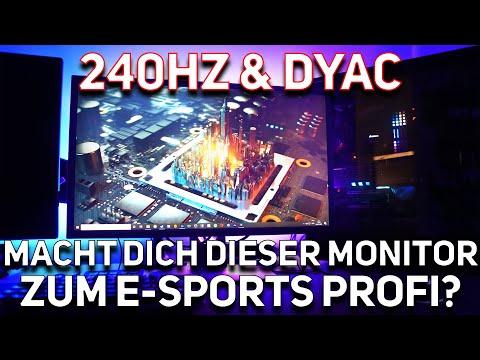BenQ Zowie XL2546k - Der BESTE Monitor für CS GO, Valorant, Fortnite, Warzone & eSports (deutsch)