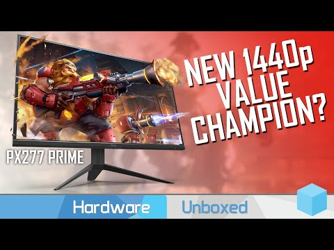 Pixio PX277 Prime Review, Outstanding 1440p 165Hz Gaming Value