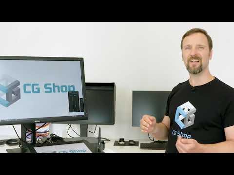 CGShop zeigt den BENQ PD2700Q - ein Klassiker mit hervorragenden Bild- & Ergonomieeinstellungen