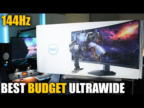 DELL'S NEW BEST BUDGET ULTRAWIDE GAMING MONITOR | DELL S3422DWG REVIEW