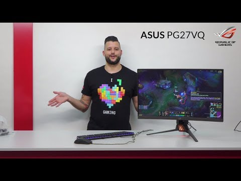 """ASUS ROG Swift PG27VQ - Review & Unboxing (27"""", Curved, WQHD, 165Hz, G-Sync)"""