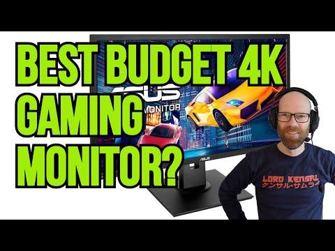 Budget 4K Gaming Monitor | Asus VP28U 28 inch 4K Monitor Review