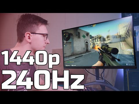 1440p 240HZ?!! AOC AG273QZ Review - TechteamGB