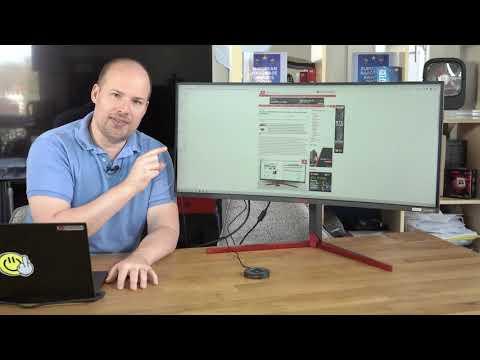 Luxxkompensator 2020 - der Monitor: AOC Agon AG353UCG