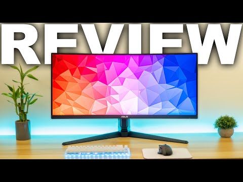 """Asus Tuf Gaming VG34VQL1B 34"""" Curved Ultrawide Review"""