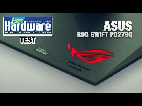 Asus ROG Swift PG279Q mit 165 Hz und G-Sync | Review / Test