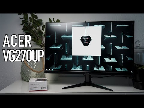 """Acer Nitro VG270UP Review - 144Hz, 1440p, 27"""" IPS for Gaming and Editing"""