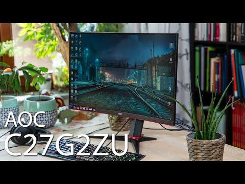 AOC C27G2ZU im Test - Der günstigste 240 Hz 27 Zoll Curved Gaming-Monitor für unter 300 Euro