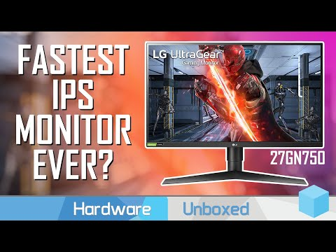 "LG 27GN750 Review, ""1ms"" IPS + 240Hz Refresh, The Best 1080p Gaming Monitor?"